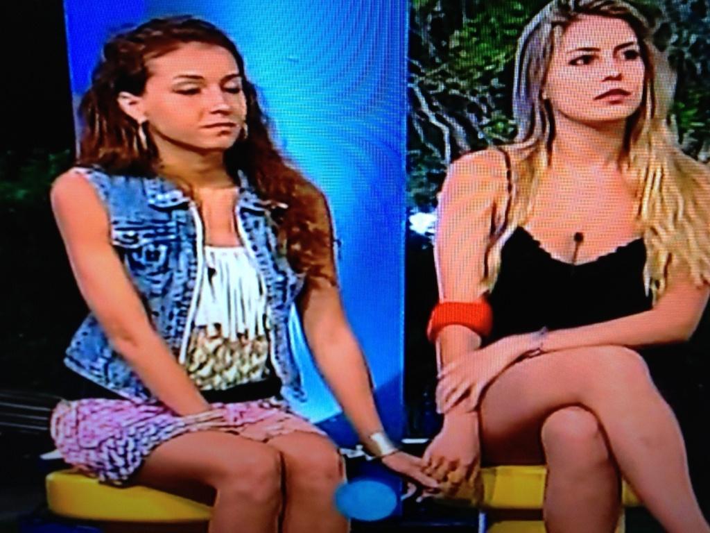 Claudia e Bianca disputam primeira Roça