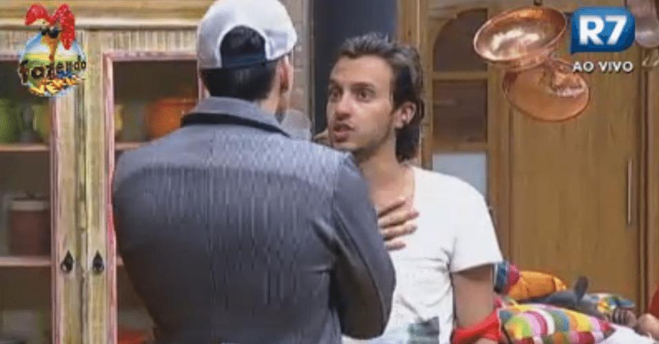 Haysam e Rodrigo Carril conversaram sobre voto em Claudia