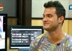 Leandro confessa em entrevista que tinha interesse em Angelis - Reprodução/Record