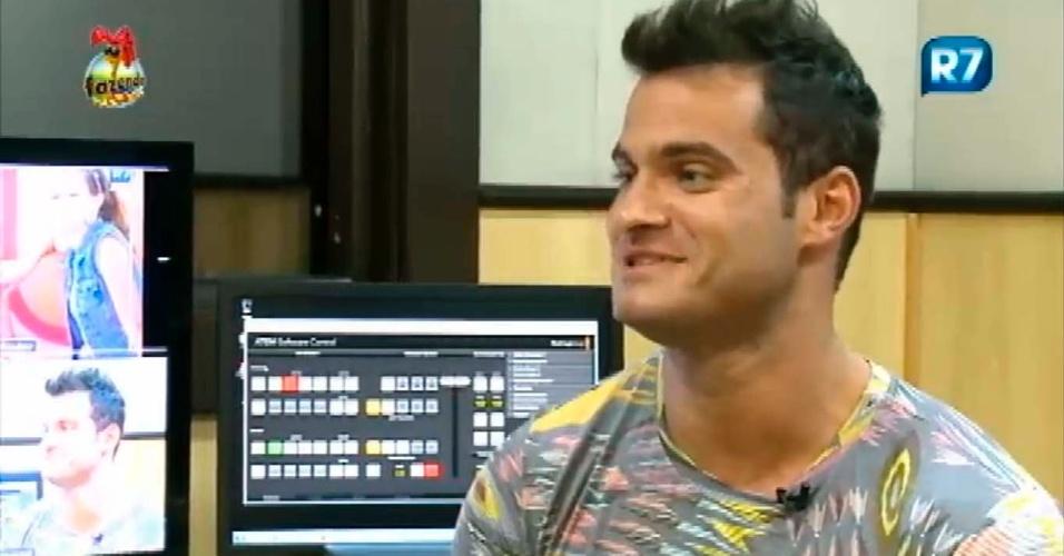 Leandro em entrevista