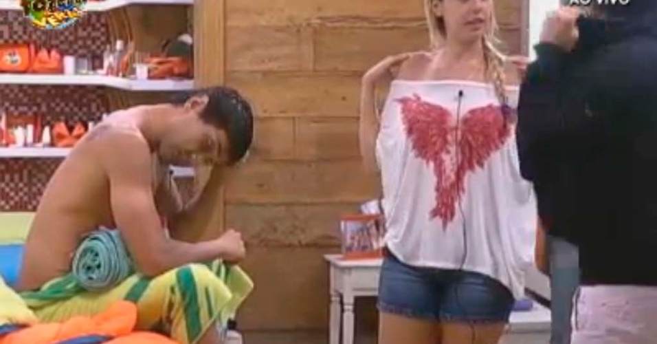 Haysam e Halan falam sobre amizade de Rodrigo e Angelis
