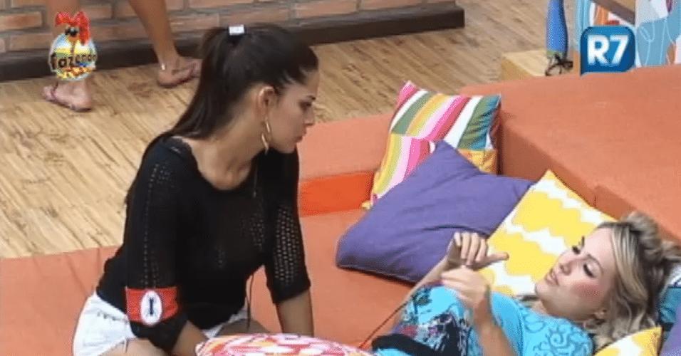 Isis afirma que não irá mais falar com a Bianca