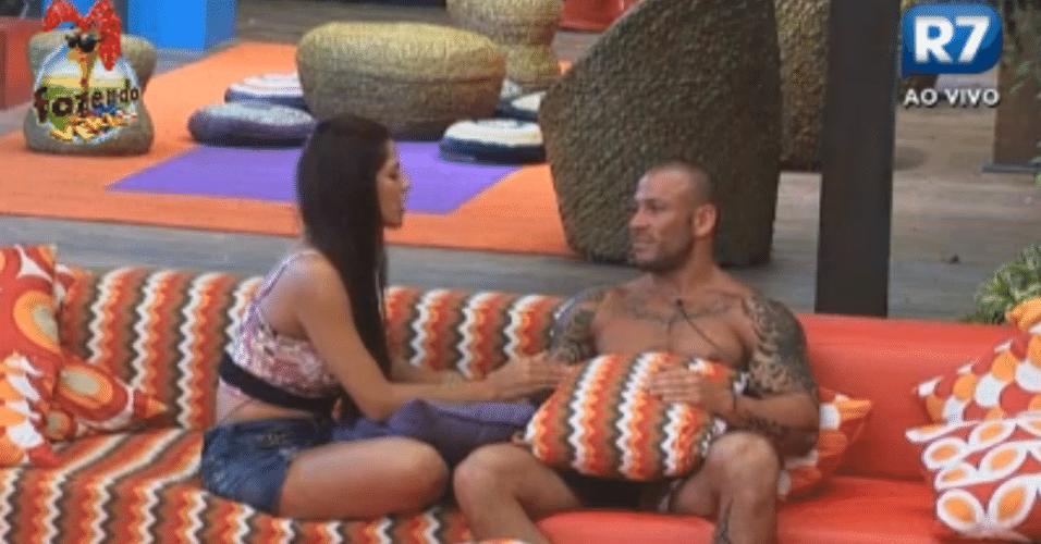 Nuelle e Rodrigo Simões conversam sobre Angelis e Haysam