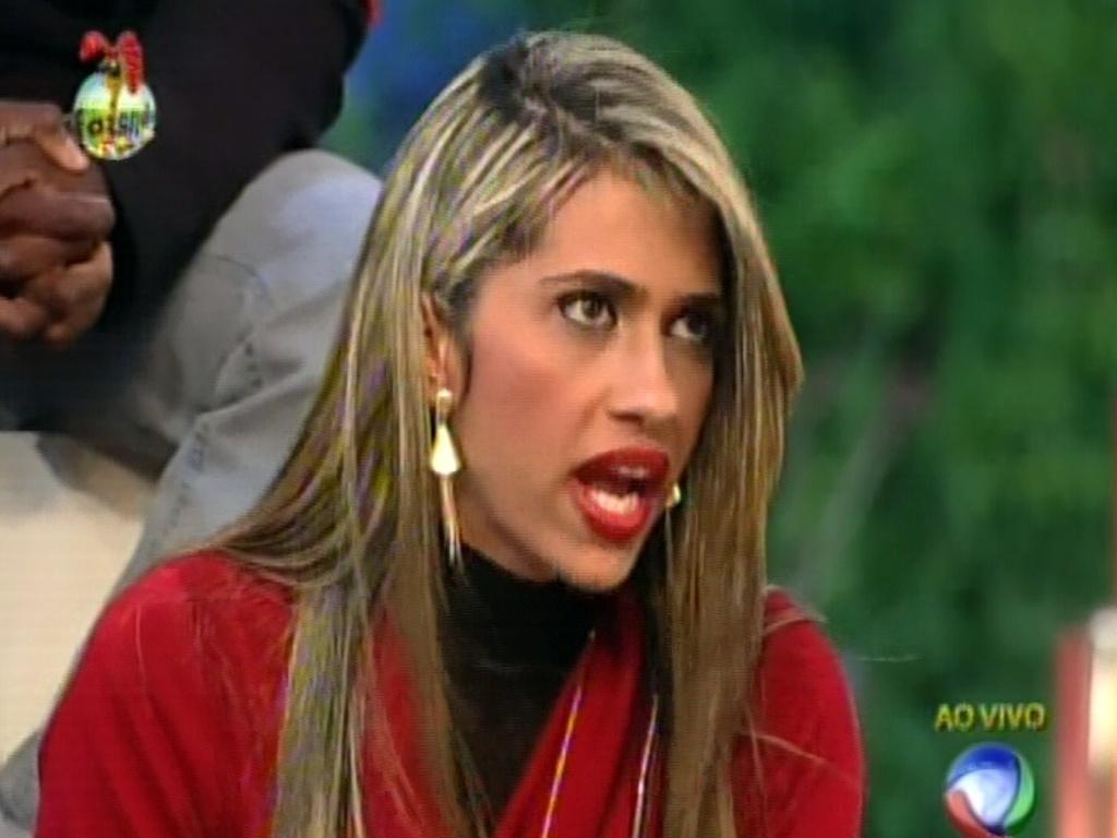 Gabriela Alves está na segunfa Roça da