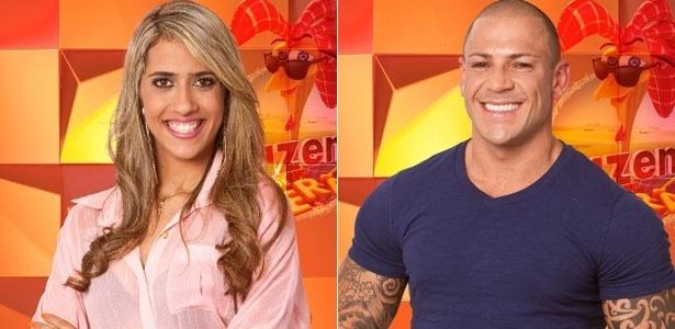 Gabriela e Rodrigo Simões disputam votos do público para continuar no jogo