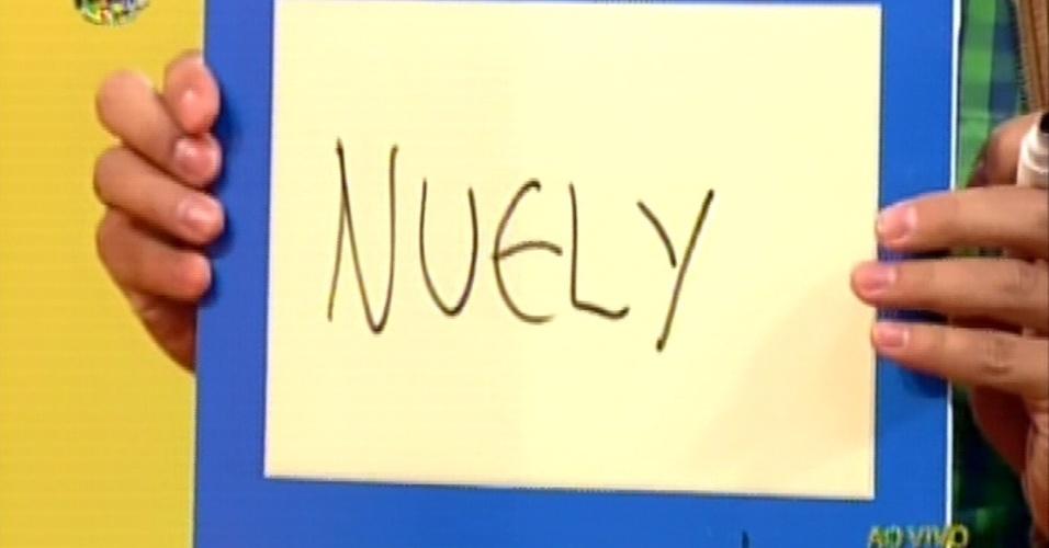Na hora da votação secreta, Haysam votou na goiana Nuelle
