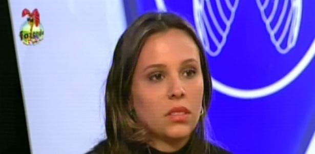 Por estar imune, Angelis escapou de ir para a roça e, na hora de votar, disse que não tem amigos na casa