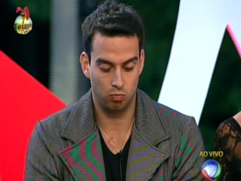 Rodrigo Carril também votou em Karine. Peão disse que a dançarina não se dedicou a trabalho
