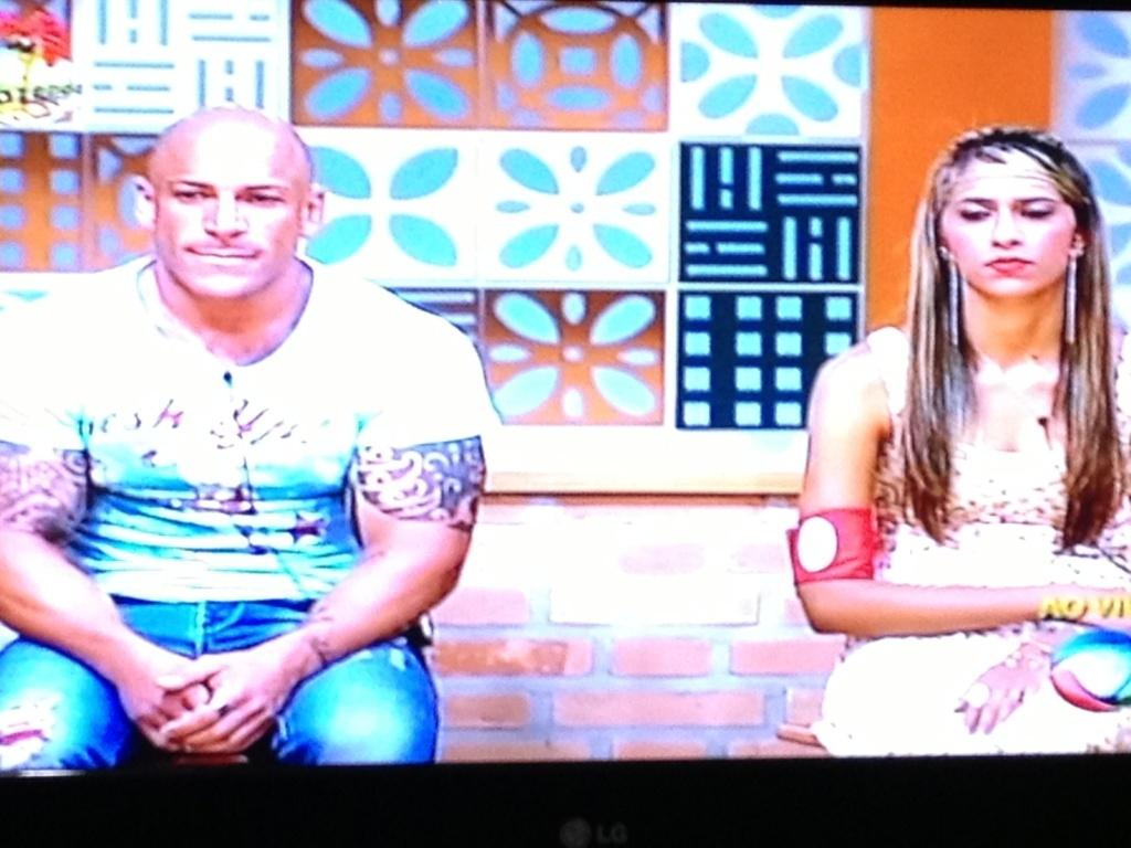 Rodrigo Simões e Gabriela disputam segunda roça da