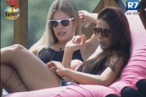 Bianca e Nuelle falam sobre os homens da casa