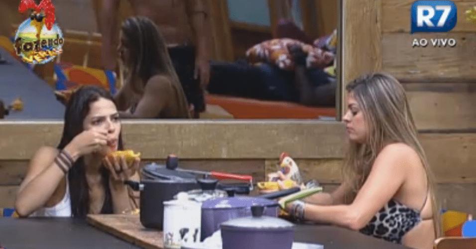 Com a saída de Bianca, Nuelle busca uma nova companheira