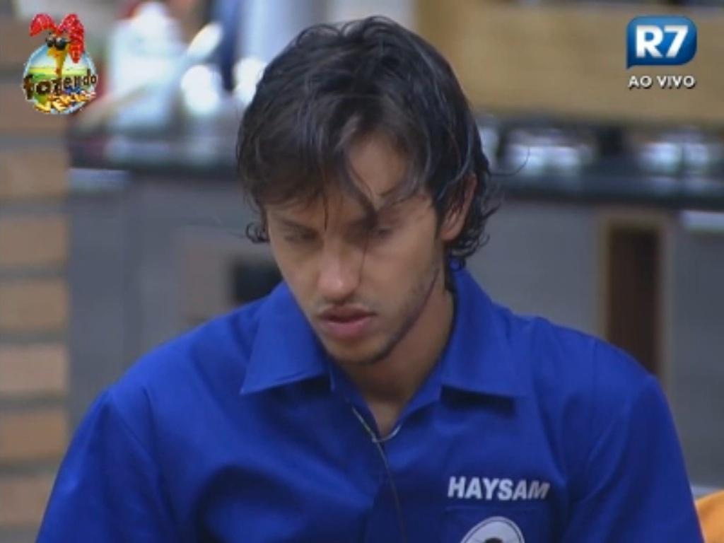 Haysam espera ser chamado para o Duelo
