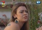 """""""Isso já é falta de respeito"""", diz Manoella sobre cantoria de Karine e Ísis - Reprodução/Record"""