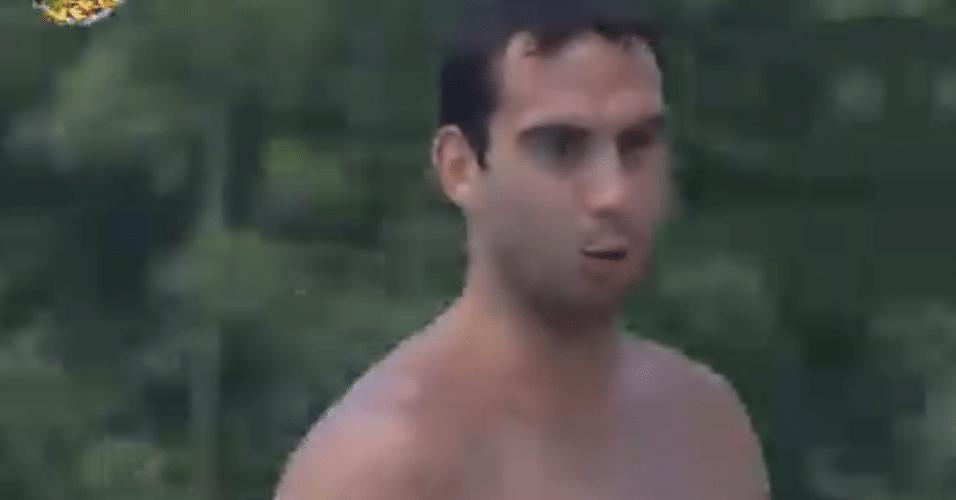 Rodrigo Carril após atividade