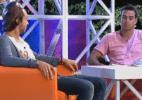 Peões participam de atividade de entrevistas - Reprodução/Record