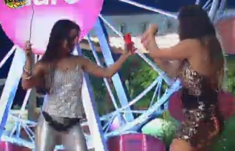 Flavia e Angelis cantam e dançam na noite desta quarta-feira (19)