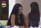 """""""Eu sou uma pessoa muito justa"""", desabafa Natália para colega Flávia - Reprodução/Record"""