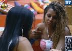 """""""Ela queria jogar a casa inteira contra a Ísis"""", diz Natália sobre Flávia - Reprodução/Record"""