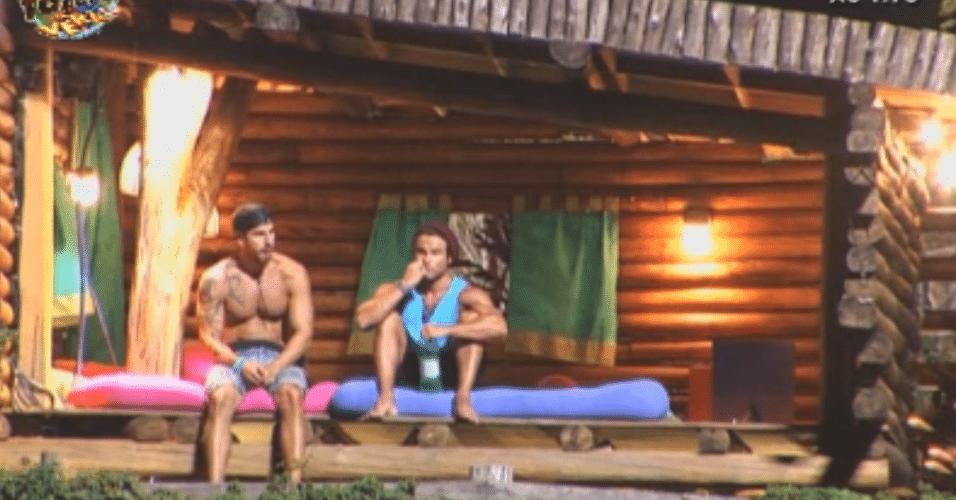 Thyago e Victor falam sobre próxima votação