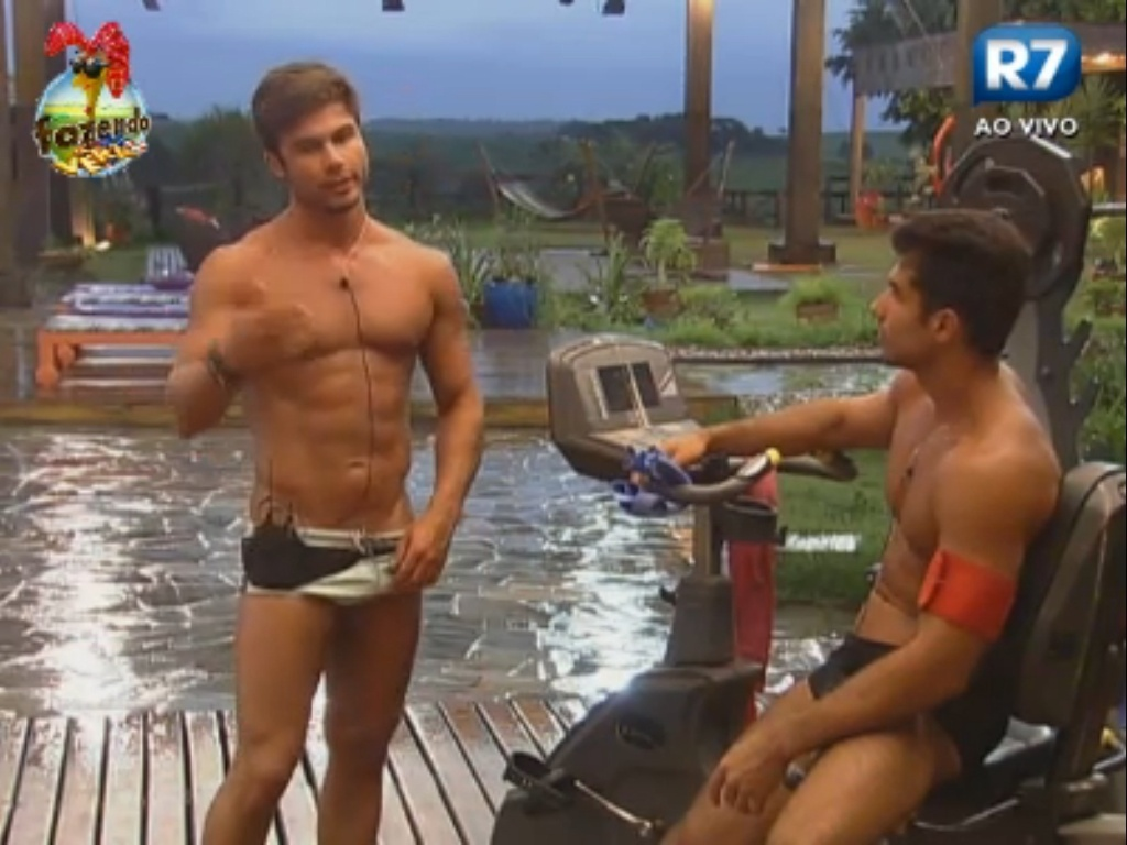 Dan abre o jogo com Victor sobre Angelis