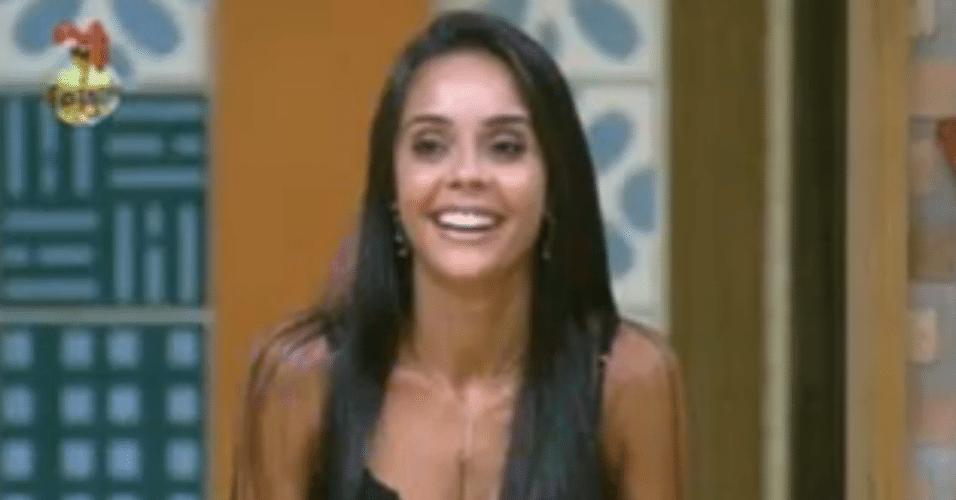 Flávia diz que Manoella precisa sair para ela ganhar o jogo