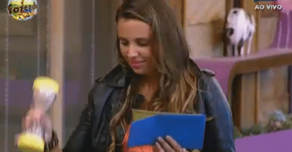 Angelis lê sua charada