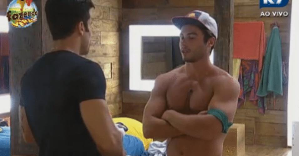 Victor se desculpa com Dan