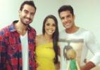 Flávia Armond divulga imagem de encontro com Dan Wainer e Rodrigo Carril - Reprodução/Instagram