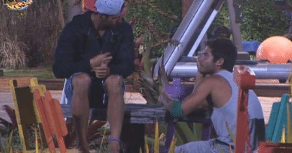 Thyago e Victor falam sobre eliminação de Dan