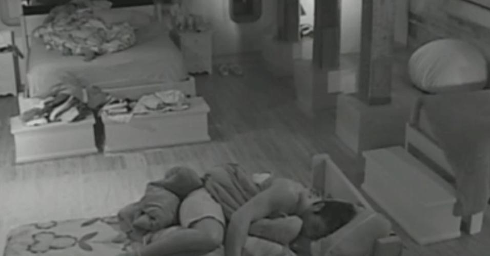 Thyago e Victor descansam