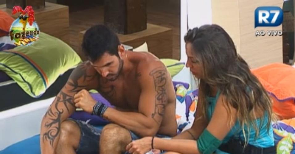 """""""A hora em que ela escolheu o Victor, foi o fim para mim"""", diz Angelis aos prantos"""