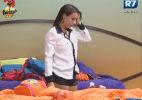 Angelis afirma que não suportaria a eliminação de Manoella em uma roça anterior - Reprodução/Record