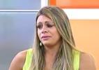 """Manoella passa mal durante entrevista ao """"Hoje em Dia"""" - Reprodução/Record"""