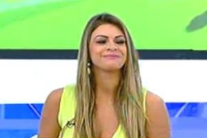 """Manoella, antes de passar mal no programa """"Hoje em Dia"""""""