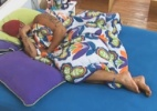Após tarefas, peões dormem até tarde - Reprodução/Record