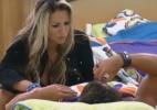 Ísis confessa ter ficado preocupada com ameaça de Angelis - Reprodução/Record