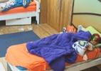 Peões dormem até tardem no primeiro dia sem obrigações - Reprodução/Record
