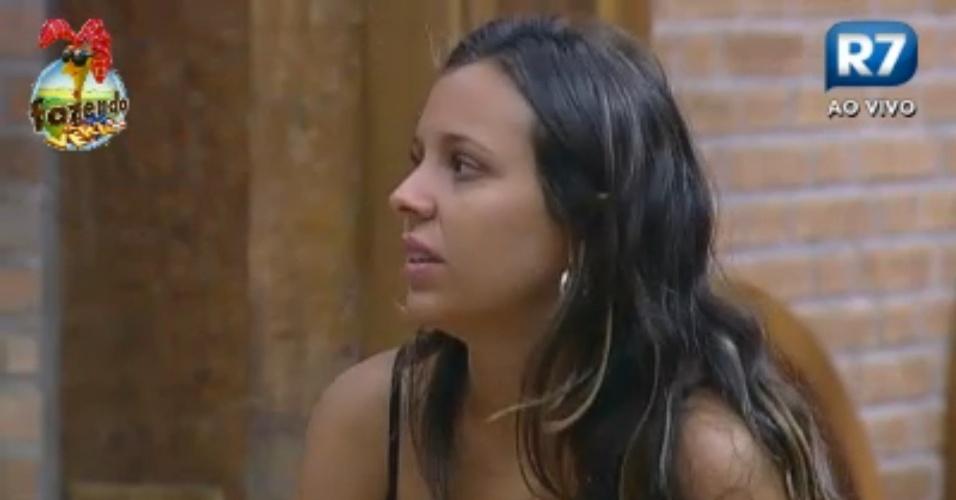 """""""O que será que o Brasil está achando do meu romance com a Manoella?"""", questiona Angelis"""