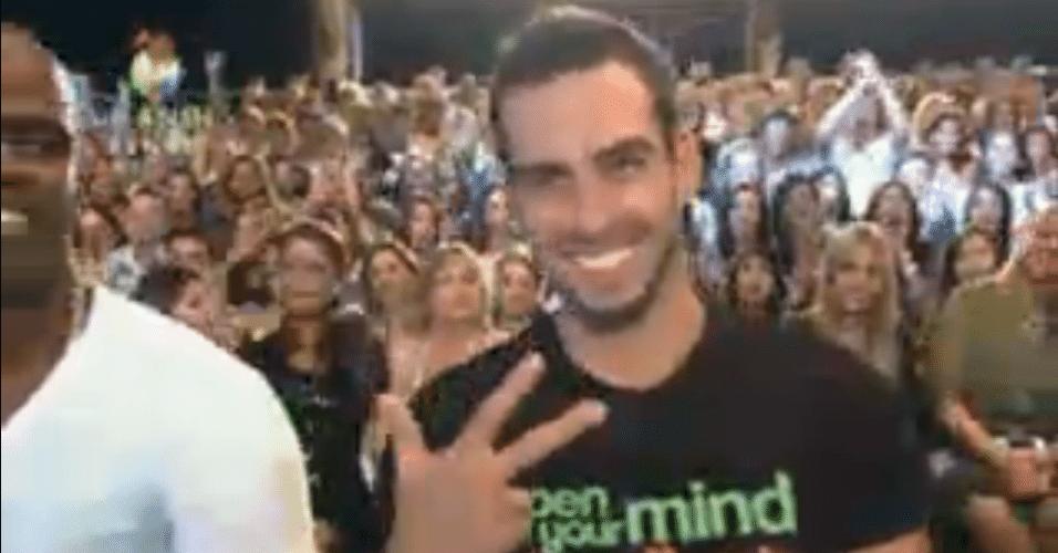 """Rodrigo Carril assiste a final da """"Fazenda de Verão"""""""