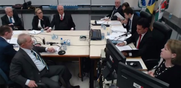 O ex-presidente Lula fez críticas ao juiz Moro e ao MPF em seus interrogatórios