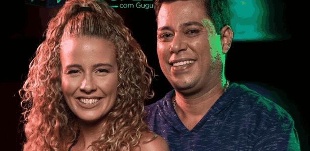 Debby Lagranha e Leandro Amieiro - Reprodução/TV Record - Reprodução/TV Record