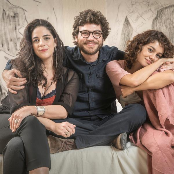 """Laura (Martha Nowill), Paulo (Emílio Dantas) e Maria Alice (Sophie Charlotte) em """"Todas as Mulheres do Mundo"""""""