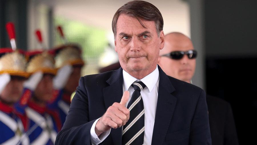 No primeiro dia de despachos após passar por cirurgia, do hospital Bolsonaro assina três decretos - Pedro Ladeira/Folhapress