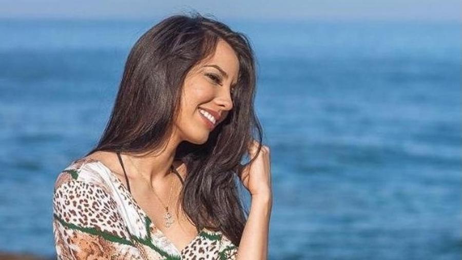 A atriz e modelo Lohany Façanha Martins de 25 anos - Reprodução