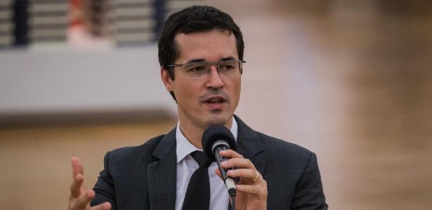 O procurador Deltan Dallagnol, chefe da força-tarefa da Lava Jato em Curitiba - Eduardo Anizelli/Folhapress
