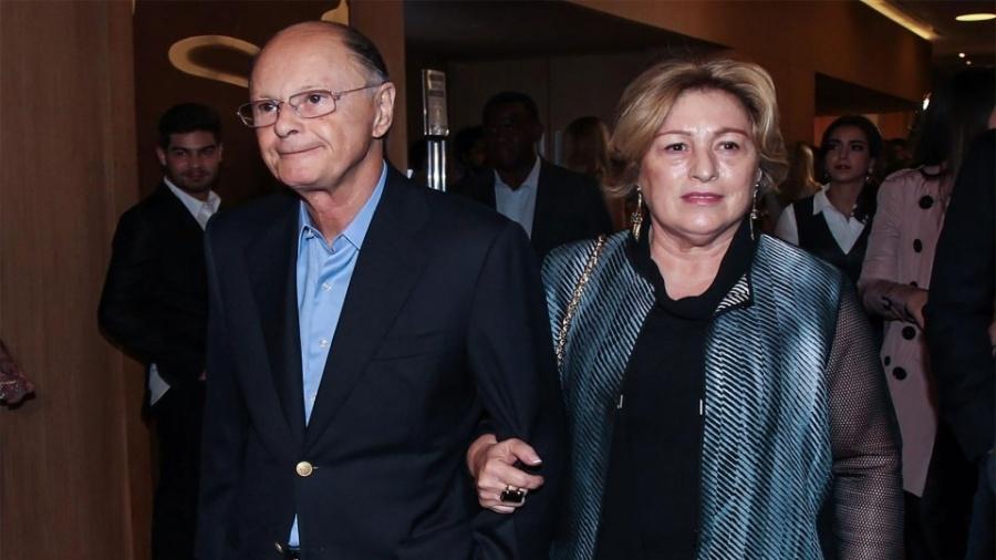Edir Macedo, da Igreja Universal do Reino de Deus, e sua mulher, Ester - Manuela Scarpa/Brazil News