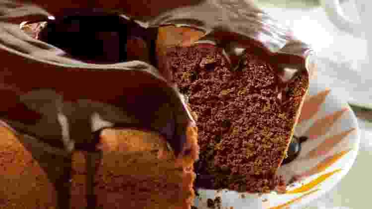 Bolo de chocolate - Divulgação  - Divulgação