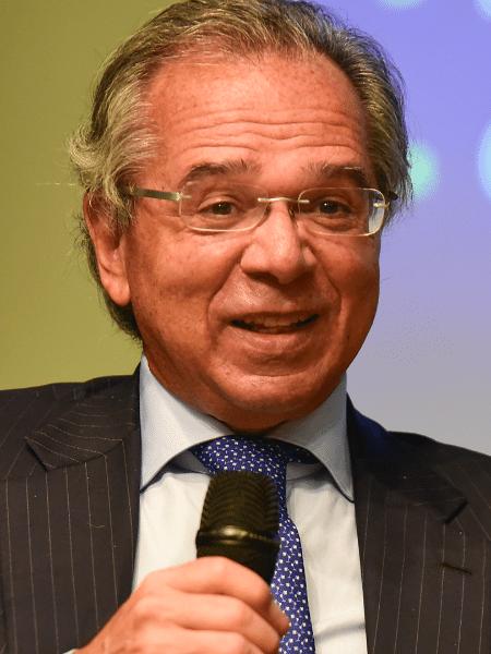Em discurso, Guedes também afirmou que o governo vai acelerar as privatizações - Marcelo Fonseca/Folhapress