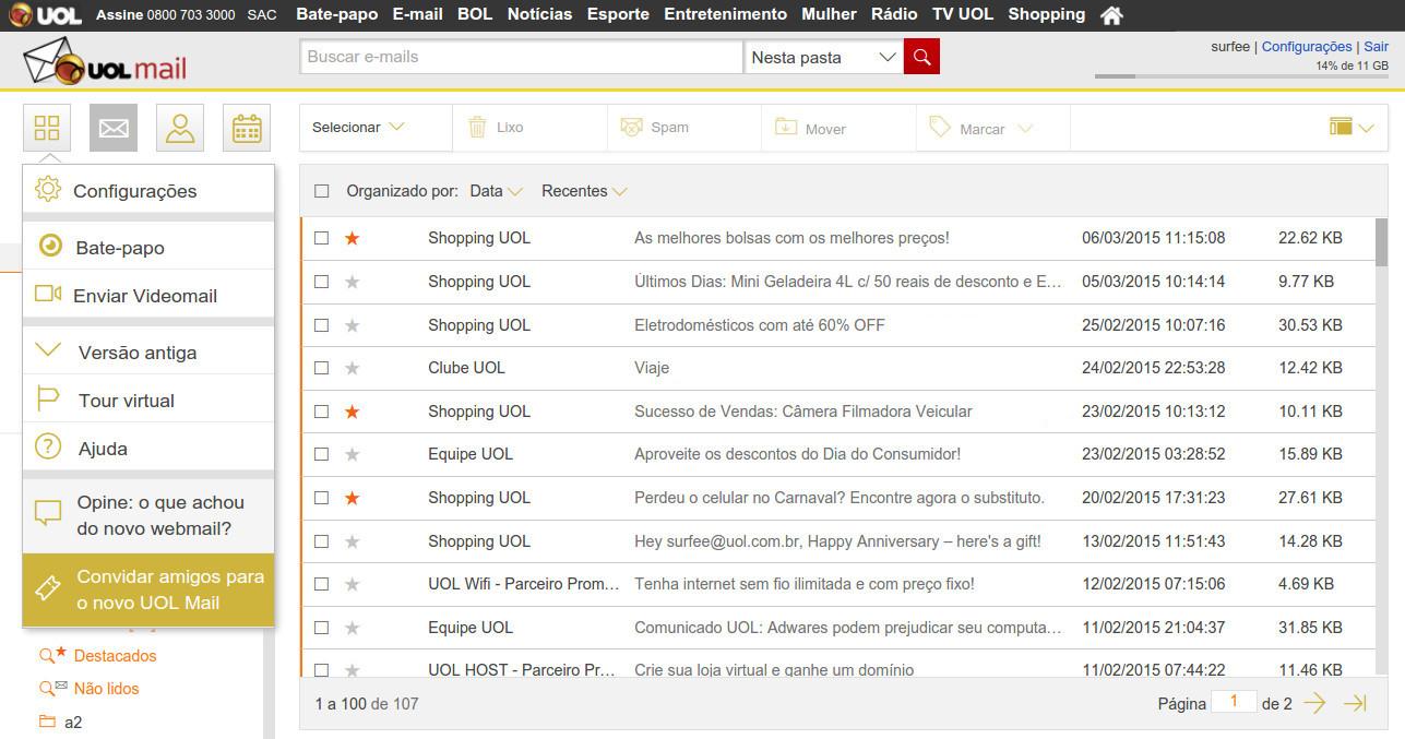 Bem vindo ao uol mail menu principal stopboris Image collections