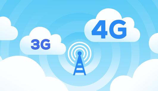 Qual é a diferença entre 3G e 4G?